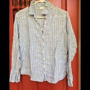 CP SHADES linen shirt XS